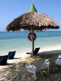 Spiaggia calda di estate Fotografia Stock Libera da Diritti