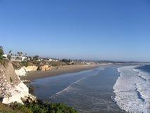 Spiaggia in California Fotografia Stock