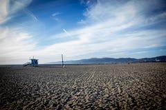 Spiaggia California di Venezia Fotografie Stock Libere da Diritti