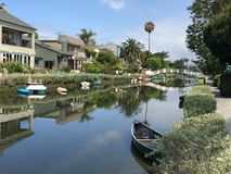 Spiaggia California di Venezia Immagini Stock