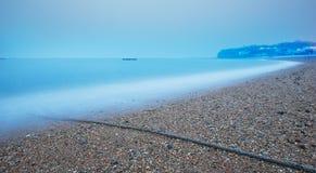 Spiaggia calma Fotografie Stock
