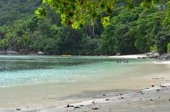 Spiaggia calma immagini stock