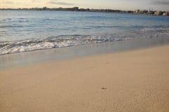Spiaggia calma Fotografia Stock