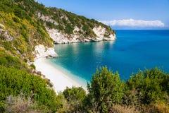 Spiaggia calma di paradiso Fotografia Stock Libera da Diritti