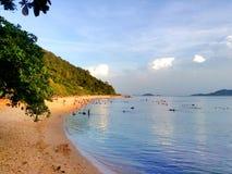 Spiaggia Cambogia di Kep Immagini Stock