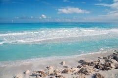 Spiaggia Cancun/Messico Fotografie Stock