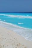 Spiaggia in cancun Messico Immagine Stock Libera da Diritti