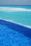 Spiaggia in cancun Messico Fotografia Stock