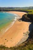 Spiaggia Cantabrian Immagine Stock Libera da Diritti