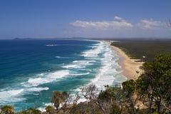 Spiaggia capa della mezzaluna fotografia stock libera da diritti