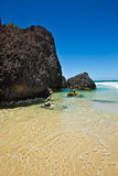 Spiaggia capa di Fingal Immagine Stock Libera da Diritti