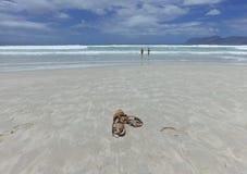 Spiaggia, Cape Town Fotografie Stock Libere da Diritti