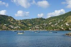 Spiaggia caraibica Immagine Stock Libera da Diritti