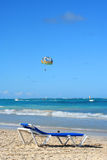 Spiaggia caraibica tropicale immagine stock libera da diritti