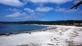 Spiaggia in Carolina del Sud america Immagine Stock Libera da Diritti