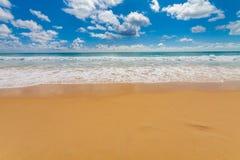 Spiaggia in Carolina del Sud america Fotografia Stock Libera da Diritti