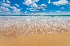 Spiaggia in Carolina del Sud america Fotografie Stock
