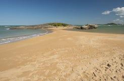 Spiaggia celeste Fotografia Stock Libera da Diritti