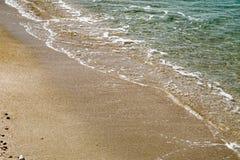 Spiaggia Cesaria di porto Israele Immagine Stock Libera da Diritti