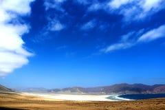 Spiaggia Cile di Pan de Azucar Immagine Stock