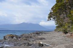 Spiaggia cilena Immagine Stock Libera da Diritti
