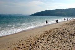 Spiaggia cinese - Shenzhen fotografia stock libera da diritti
