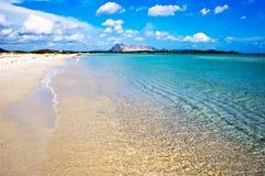 Spiaggia Cinta Fotografia Stock