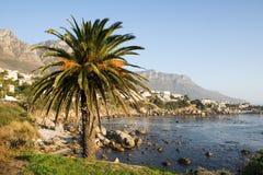 Spiaggia a Città del Capo Fotografie Stock Libere da Diritti