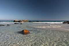 Spiaggia Città del Capo di Clifton Fotografia Stock Libera da Diritti