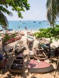 Spiaggia in città di pietra, Zanzibar Fotografia Stock