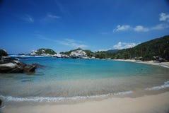 Spiaggia colombiana fotografie stock libere da diritti