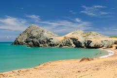 Spiaggia colombiana Immagini Stock