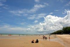 Spiaggia comoda Fotografia Stock Libera da Diritti