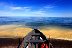 spiaggia con colore speciale Immagini Stock Libere da Diritti
