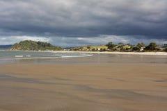 Spiaggia Coromandel Nuova Zelanda di Whangapoua Fotografia Stock Libera da Diritti