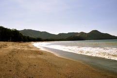 Spiaggia in Costa Rica Immagine Stock Libera da Diritti
