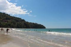 Spiaggia in Costa Rica fotografia stock