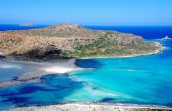 Spiaggia Creta di Balos Immagini Stock Libere da Diritti