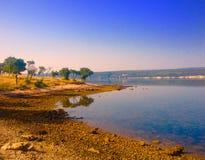 Spiaggia croata Immagini Stock Libere da Diritti