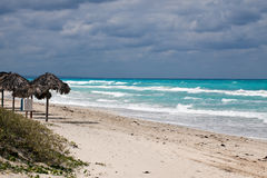 Spiaggia Cuba di Varadero fotografia stock libera da diritti