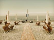 Spiaggia d'annata Fotografia Stock