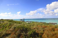 Spiaggia da Cuba Fotografia Stock Libera da Diritti