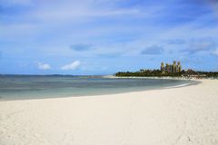 Spiaggia dalle Bahamas Fotografia Stock