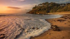 Spiaggia a Dawlish immagine stock