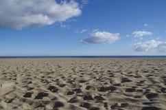 Spiaggia degli amici Fotografia Stock Libera da Diritti
