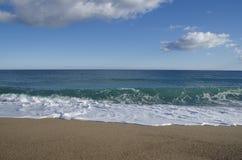 Spiaggia degli amici Immagine Stock
