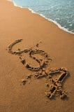 Spiaggia degli S.U.A. Immagine Stock Libera da Diritti