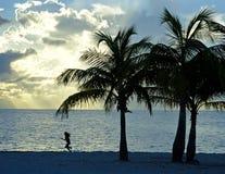 Spiaggia dei bambini Fotografie Stock