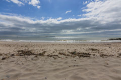 Spiaggia dei banchi di sabbia Fotografie Stock Libere da Diritti
