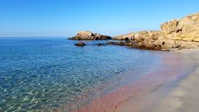 Spiaggia dei francesi. Porto Pino, Sardinia Italy Stock Image